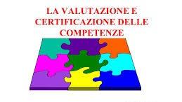 Valutazione e certificazione delle competenze